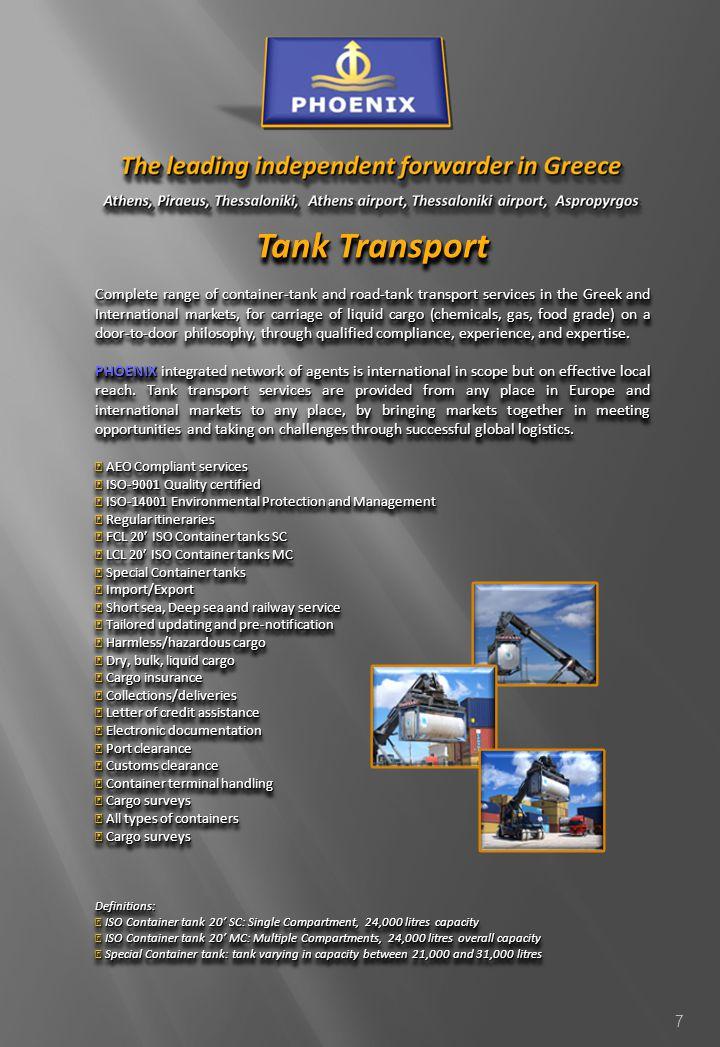 Tank Transport
