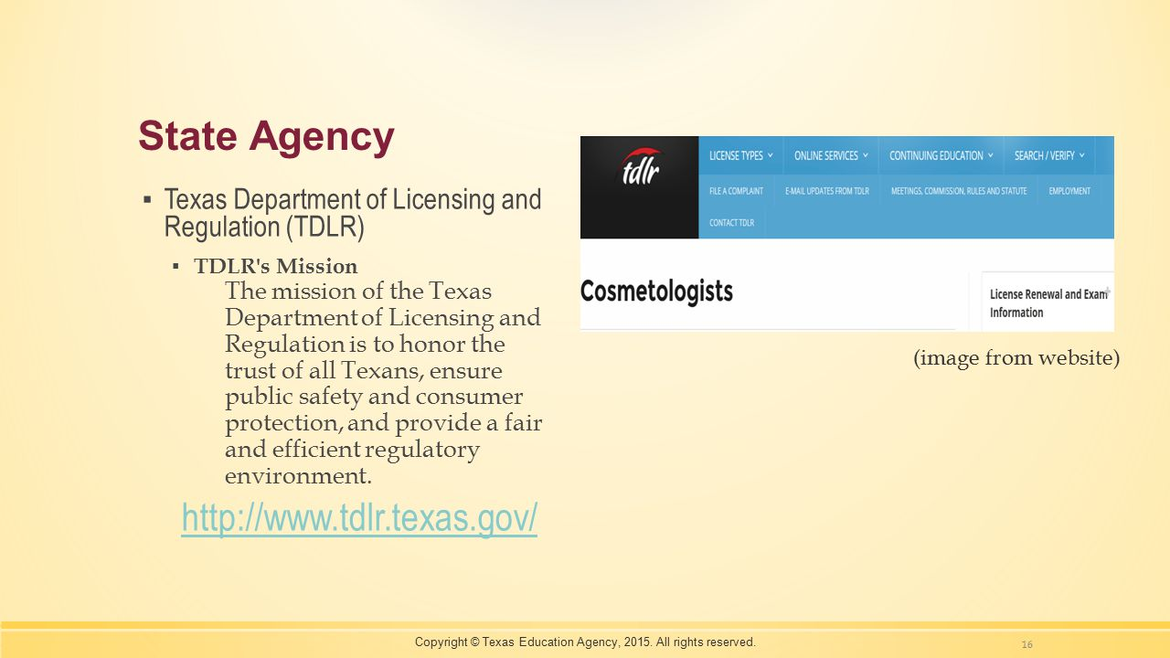 Copyright © Texas Education Agency, 2015. All rights reserved.