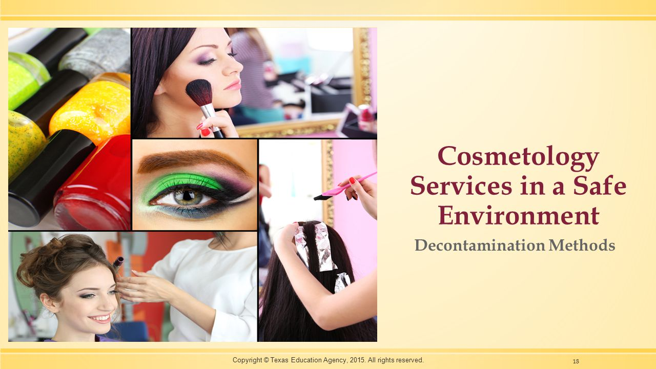 Cosmetology Services in a Safe Environment