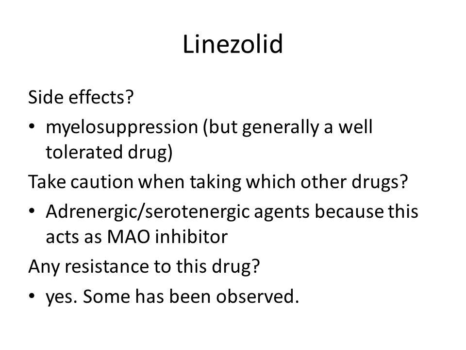 Linezolid Side effects