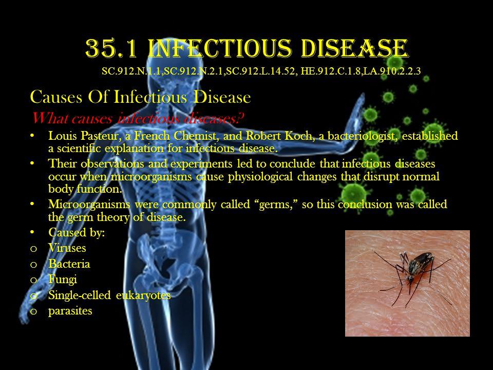 35. 1 35. 1 Infectious Disease SC. 912. N. 1. 1,SC. 912. N. 2. 1,SC