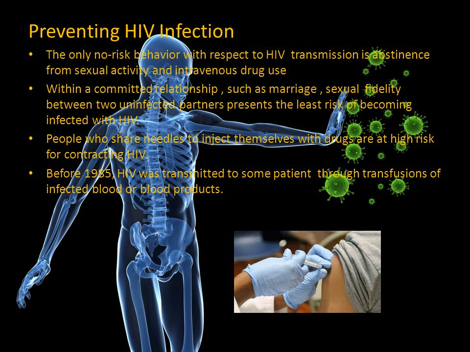 Preventing HIV Infection