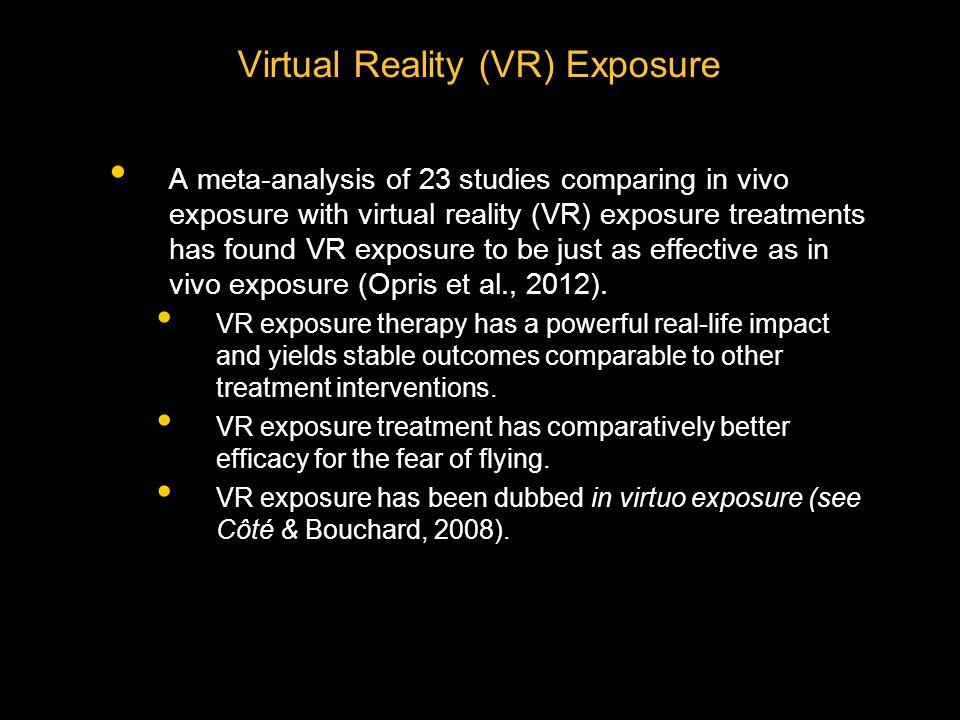 Virtual Reality (VR) Exposure