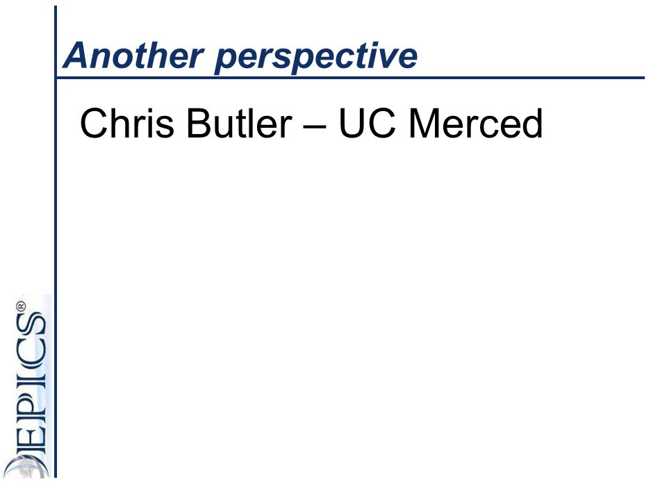 Chris Butler – UC Merced