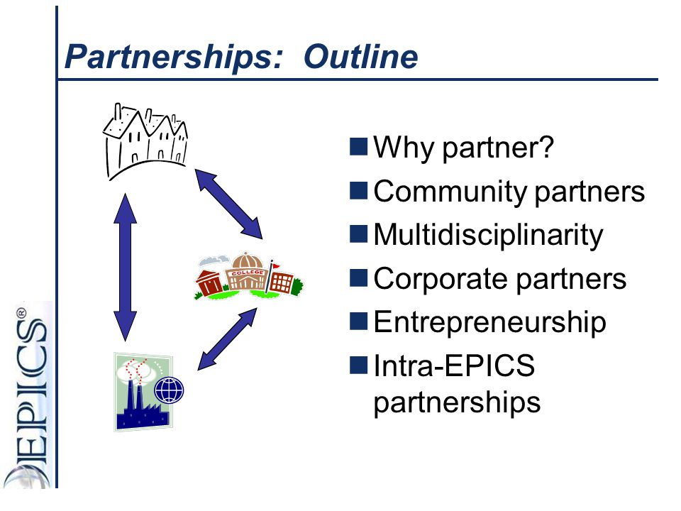 Partnerships: Outline