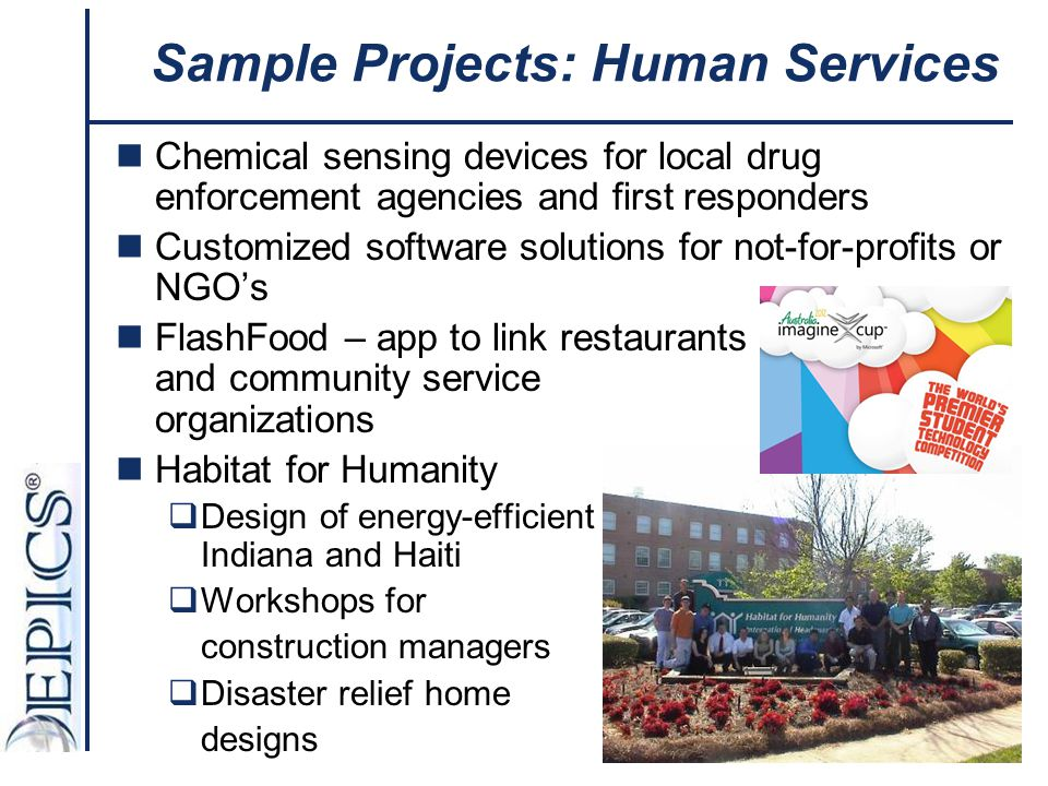Sample Projects: Human Services