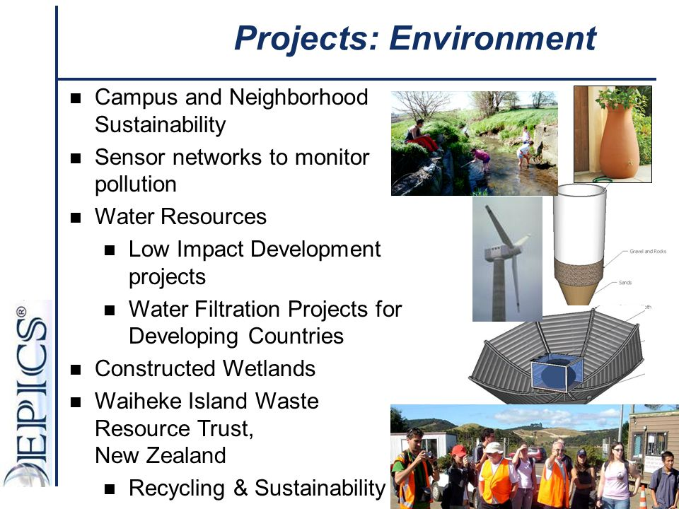 Projects: Environment