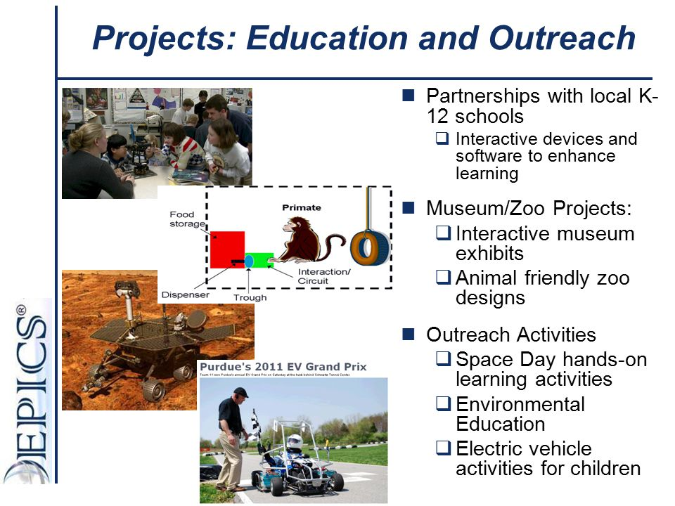 Projects: Education and Outreach