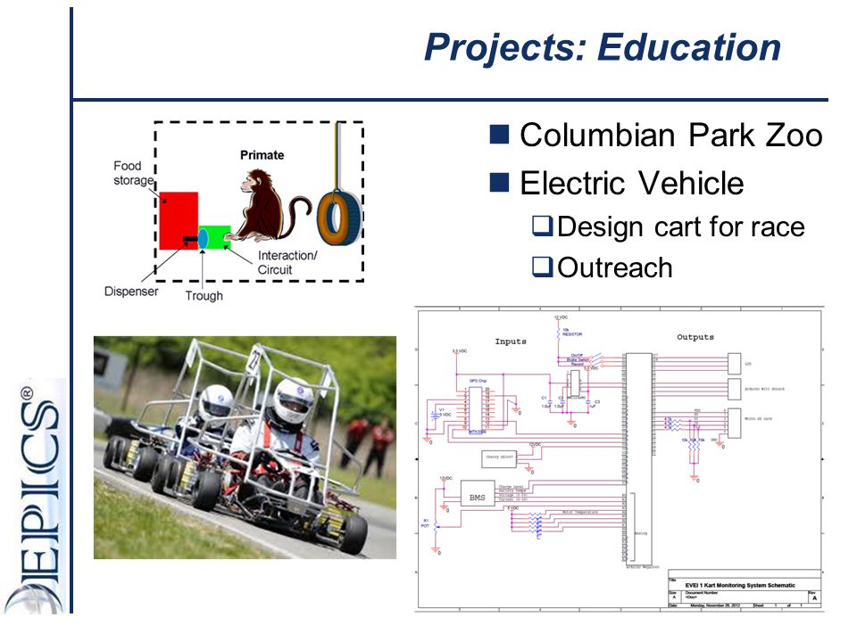Projects: Education Columbian Park Zoo Electric Vehicle