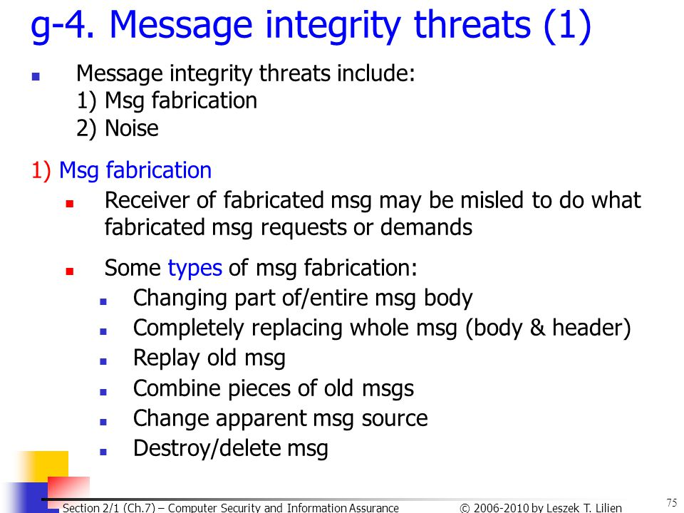 g-4. Message integrity threats (1)