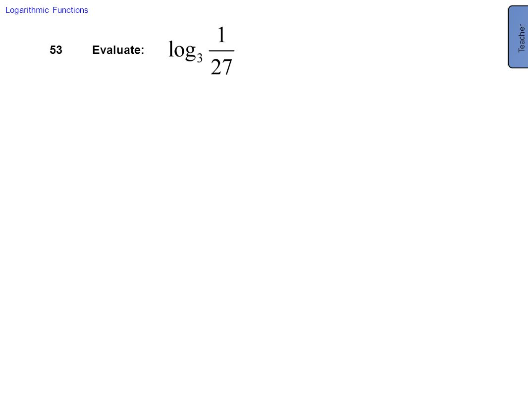 Use this as a reminder of negative exponents and what they mean.
