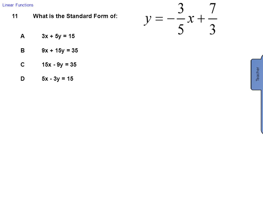 New jersey center for teaching and learning ppt download write the equation in standard form 32 multiply falaconquin