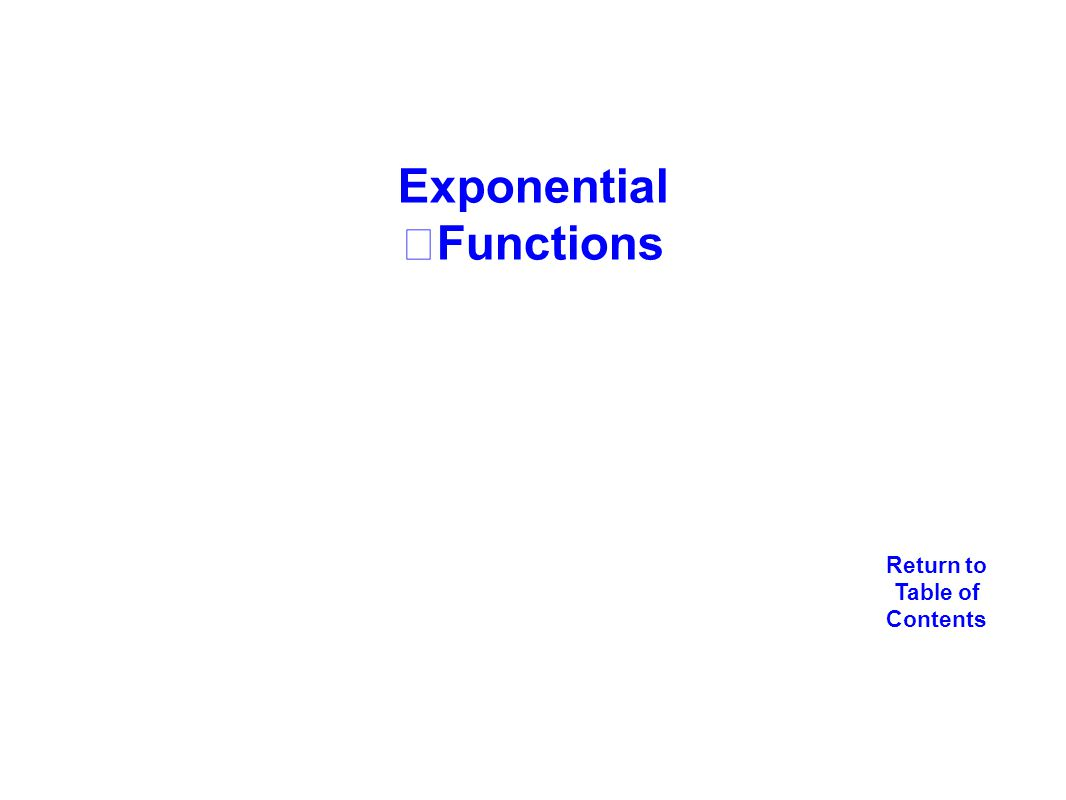 New jersey center for teaching and learning ppt download exponential functions falaconquin