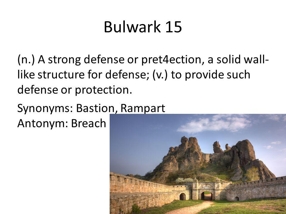 Bulwark 15