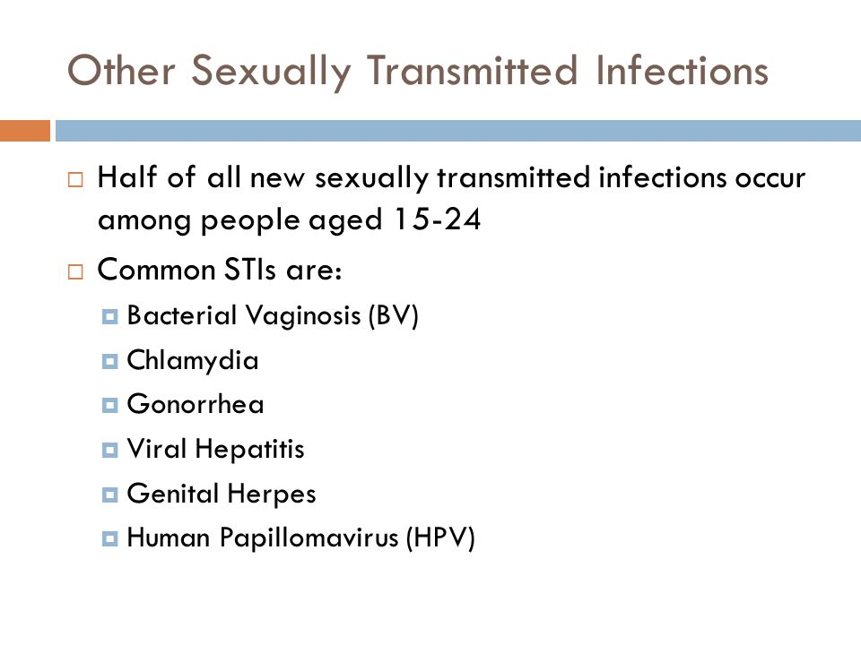 Other Sexually Transmitted Infections