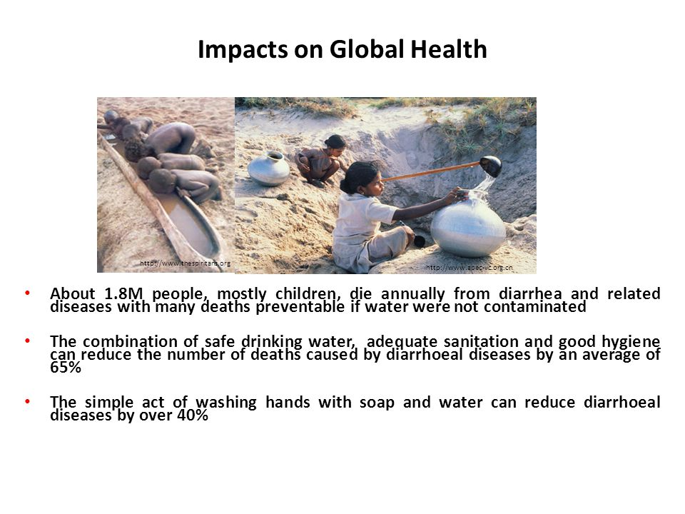 Impacts on Global Health
