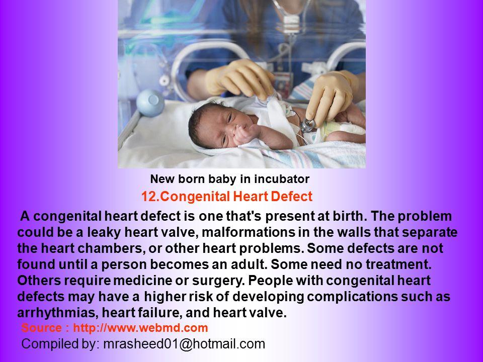 12.Congenital Heart Defect