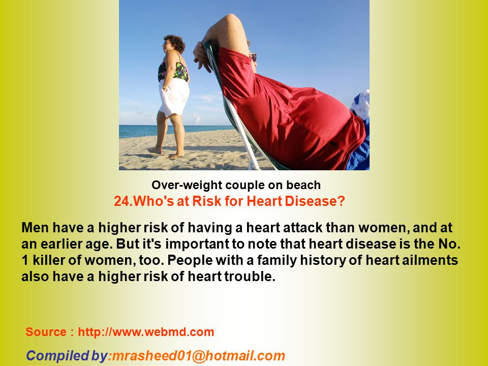 24.Who s at Risk for Heart Disease
