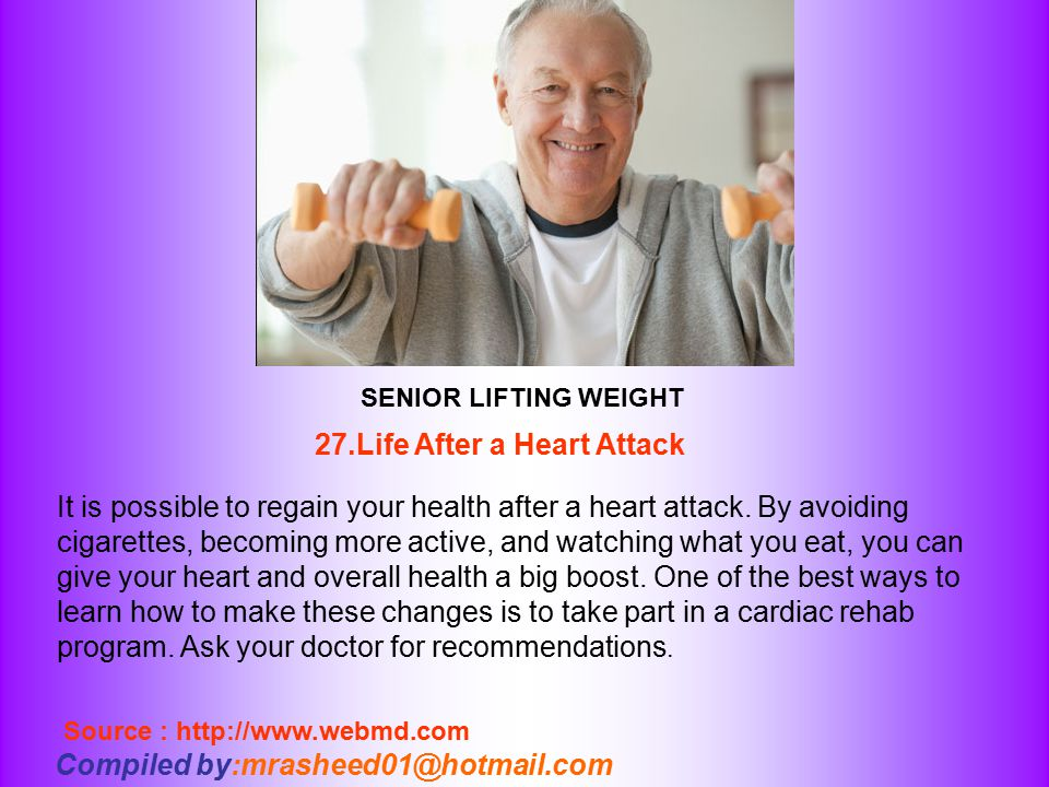 27.Life After a Heart Attack