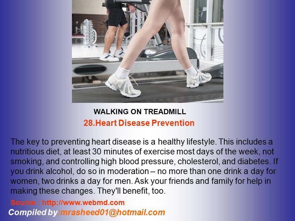 28.Heart Disease Prevention