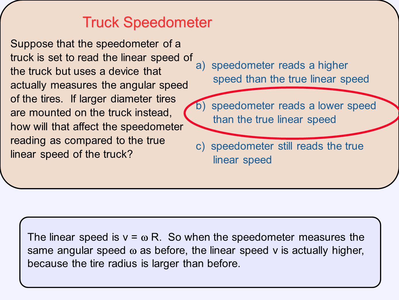 Truck Speedometer