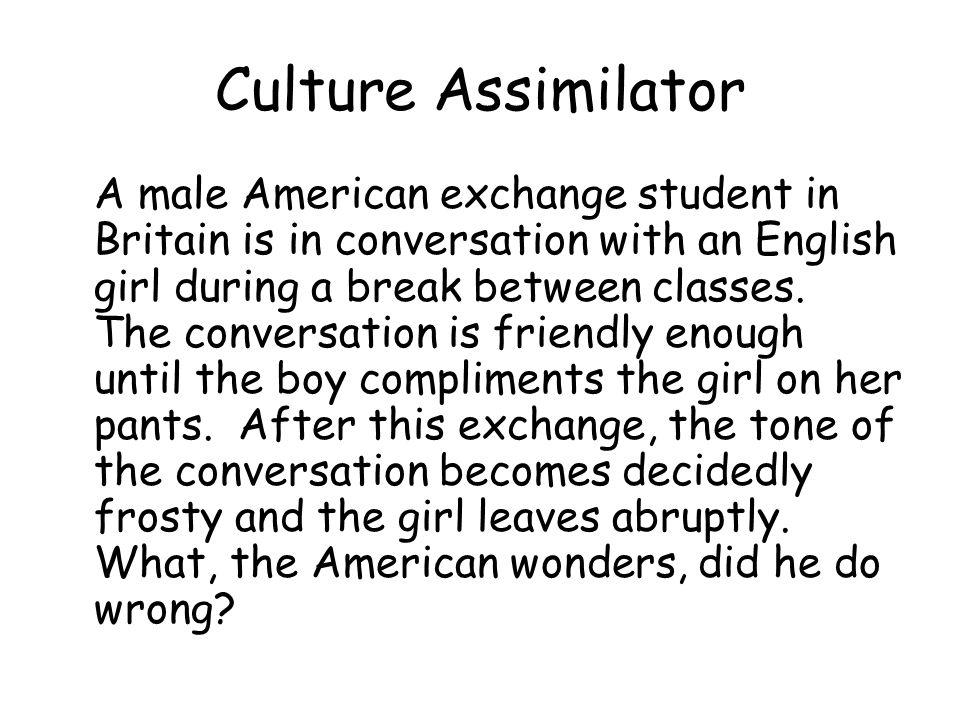 Culture Assimilator