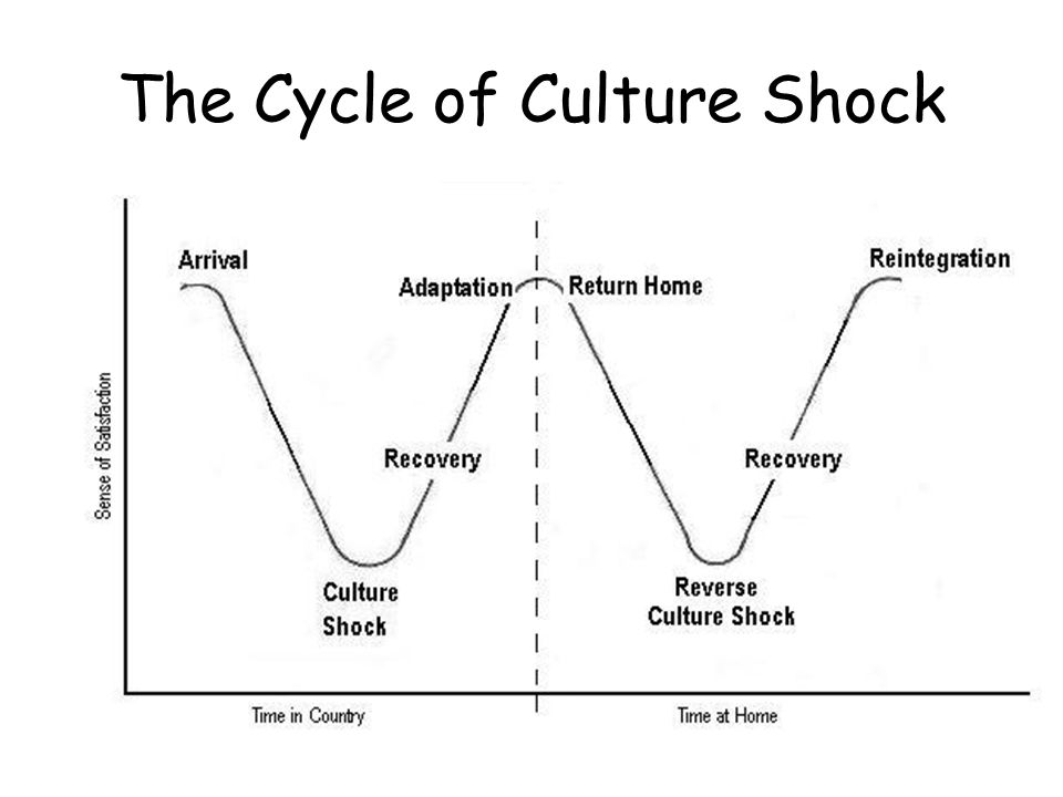 The Cycle of Culture Shock