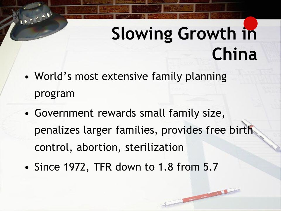 Slowing Growth in China