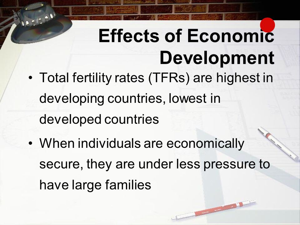 Effects of Economic Development