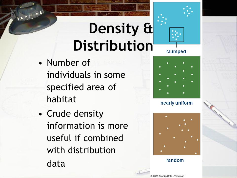 Density & Distribution