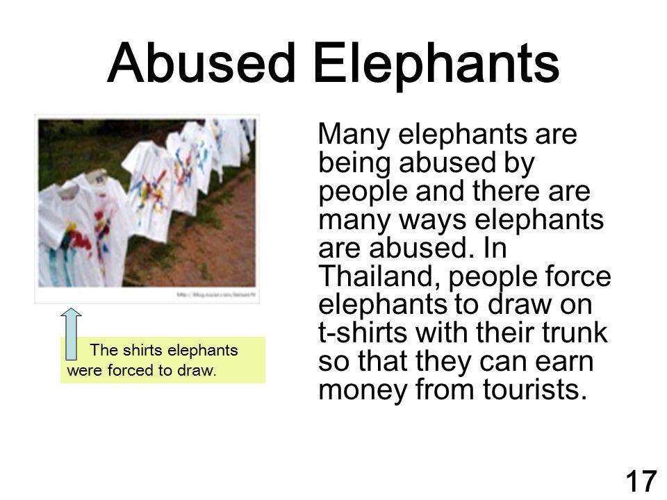 Abused Elephants