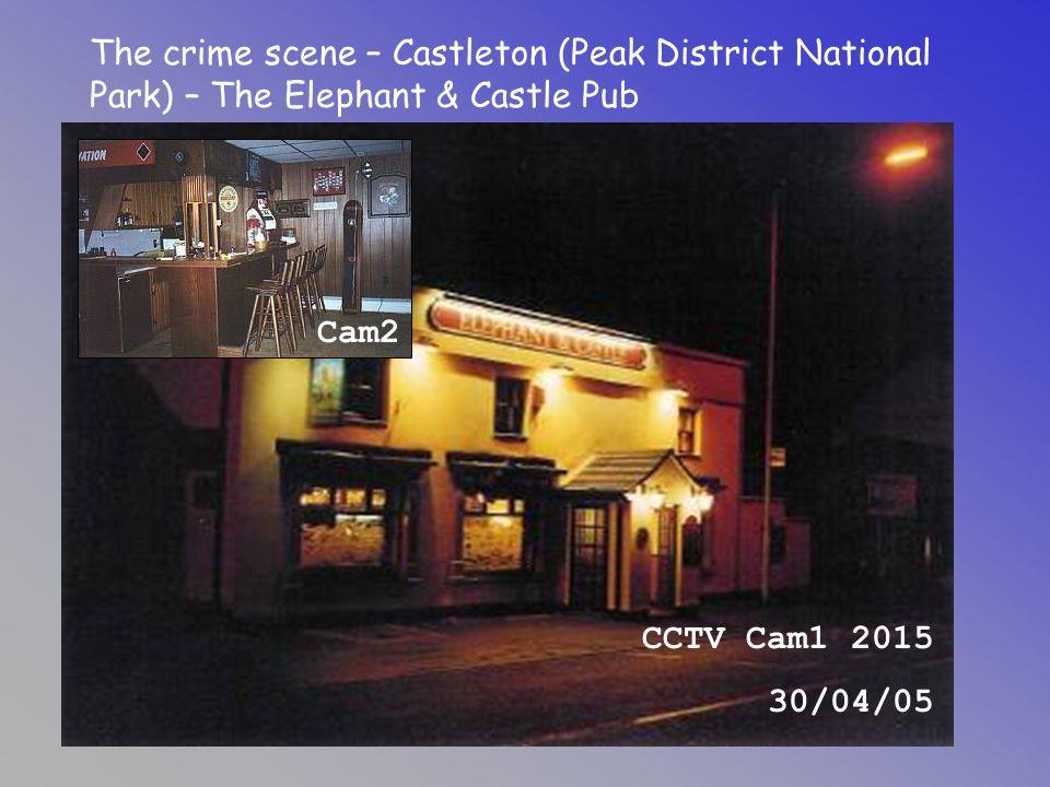 The crime scene – Castleton (Peak District National Park) – The Elephant & Castle Pub