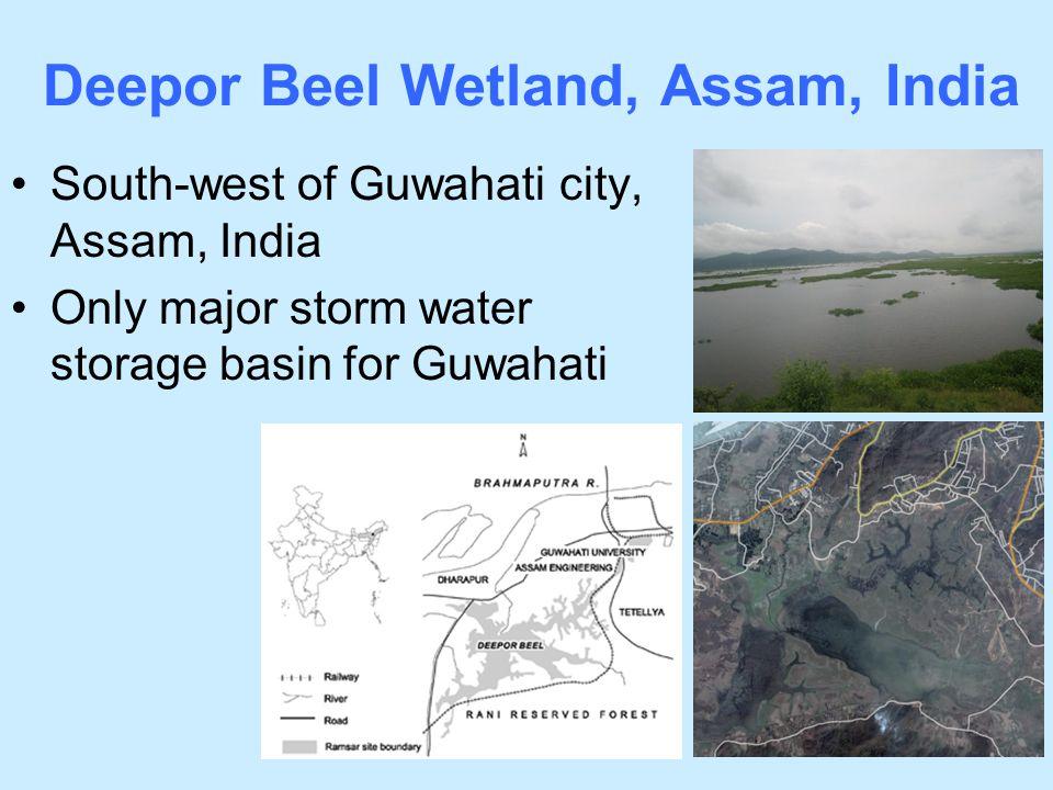 Deepor Beel Wetland, Assam, India