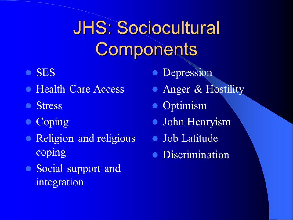 JHS: Sociocultural Components