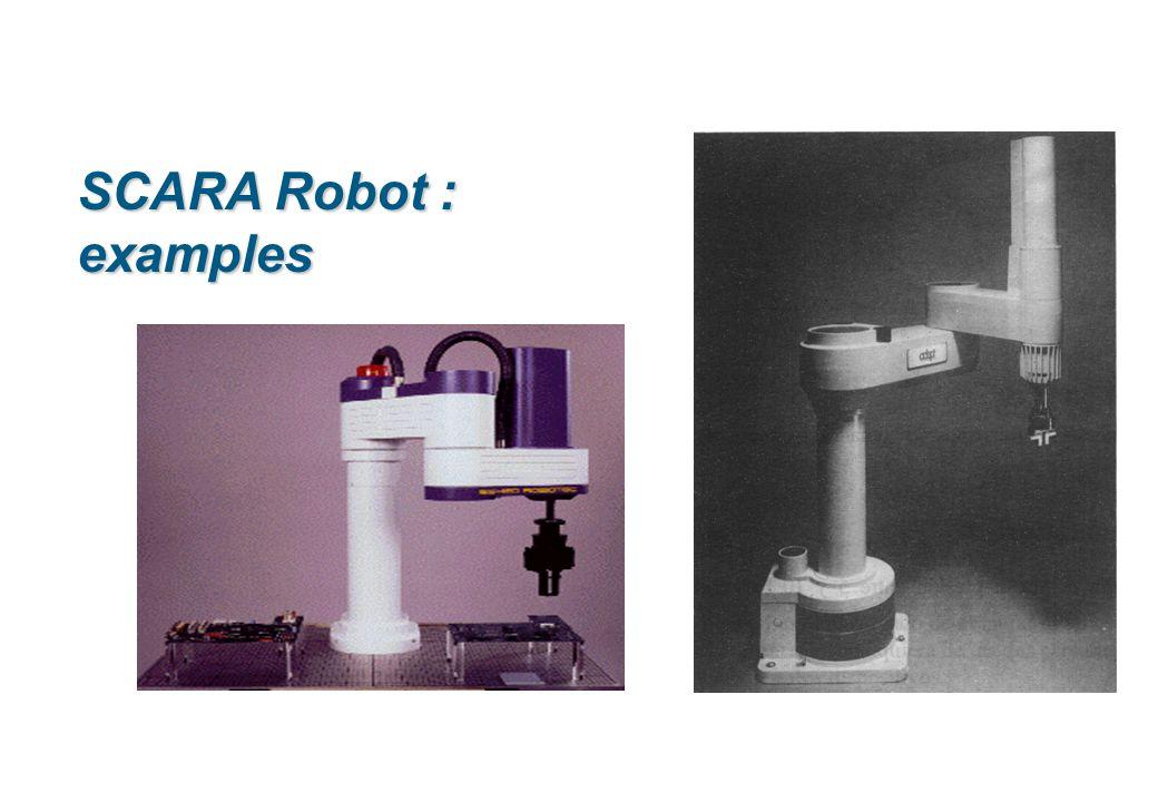 SCARA Robot : examples