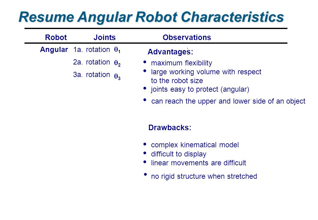 robotics  robot morphology