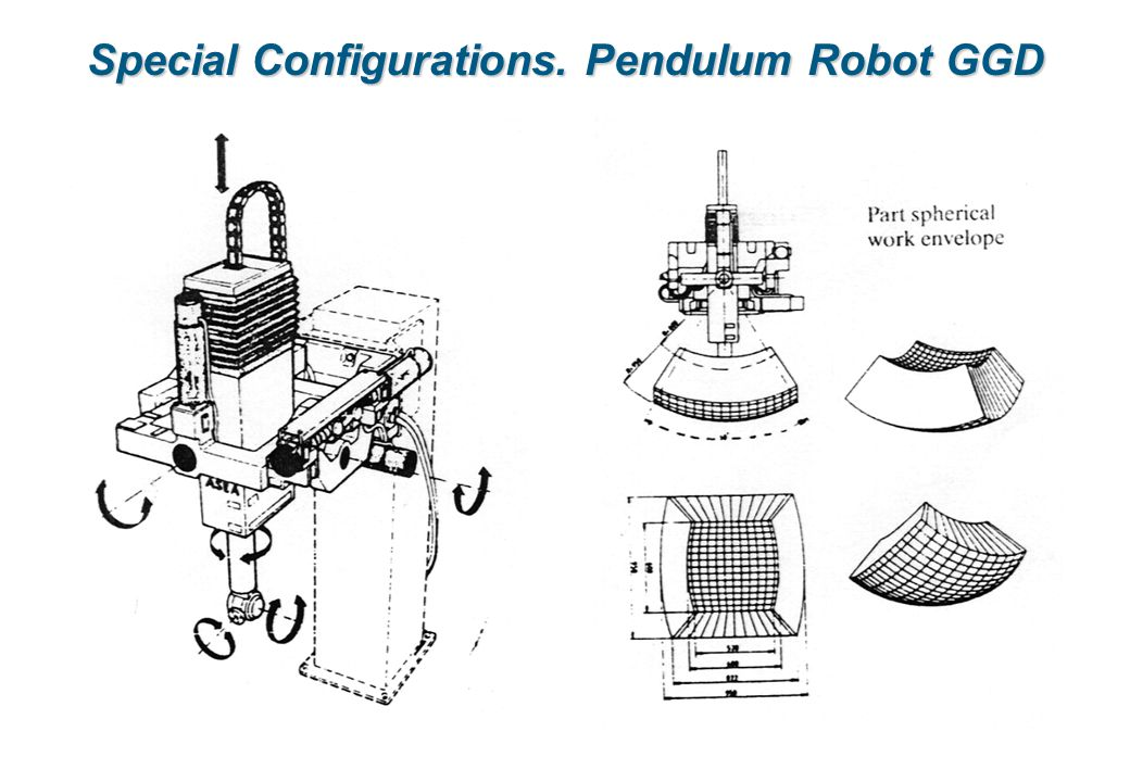 Special Configurations. Pendulum Robot GGD