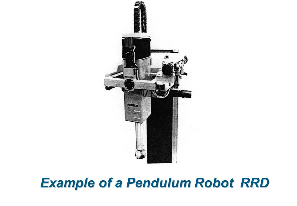 Example of a Pendulum Robot RRD