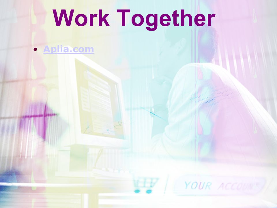 Work Together Aplia.com