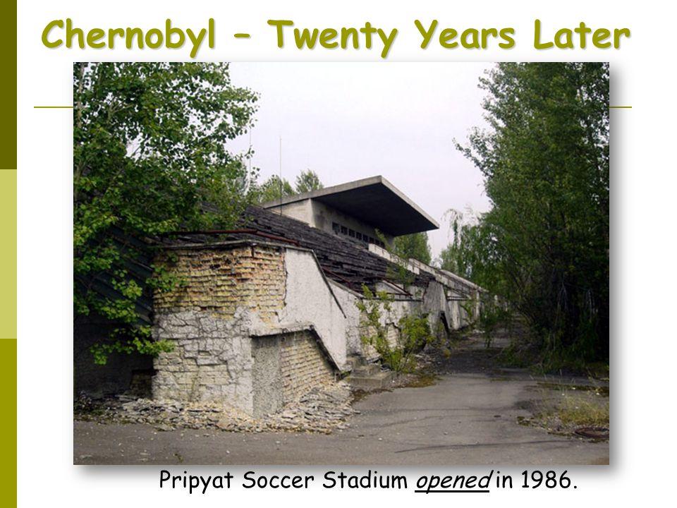 Chernobyl – Twenty Years Later