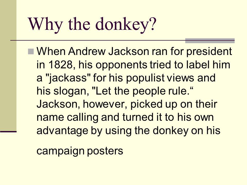 Why the donkey
