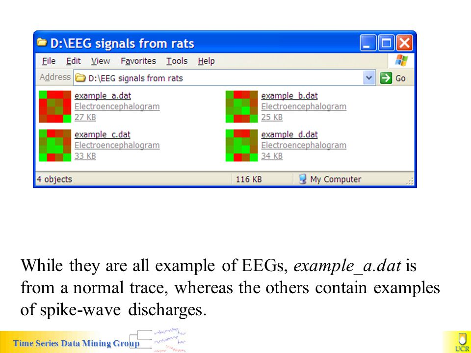 While they are all example of EEGs, example_a