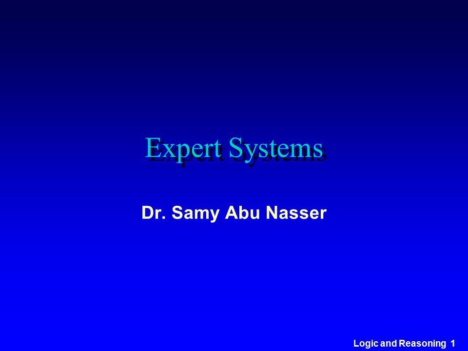 Expert Systems Dr. Samy Abu Nasser