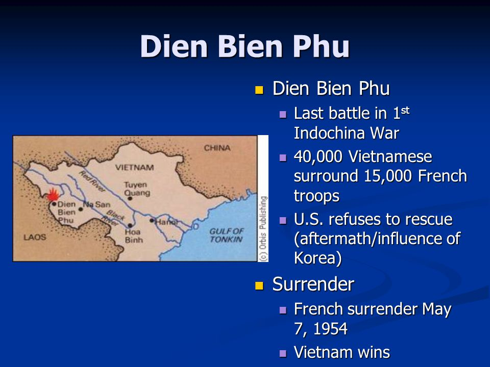 Dien Bien Phu Dien Bien Phu Surrender Last battle in 1st Indochina War