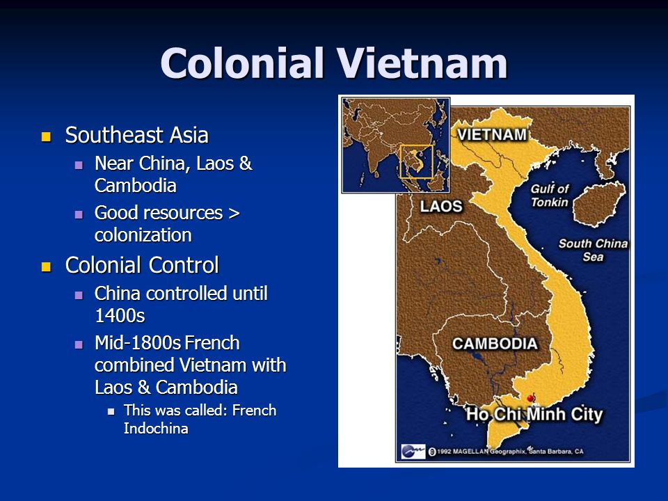 Colonial Vietnam Southeast Asia Colonial Control