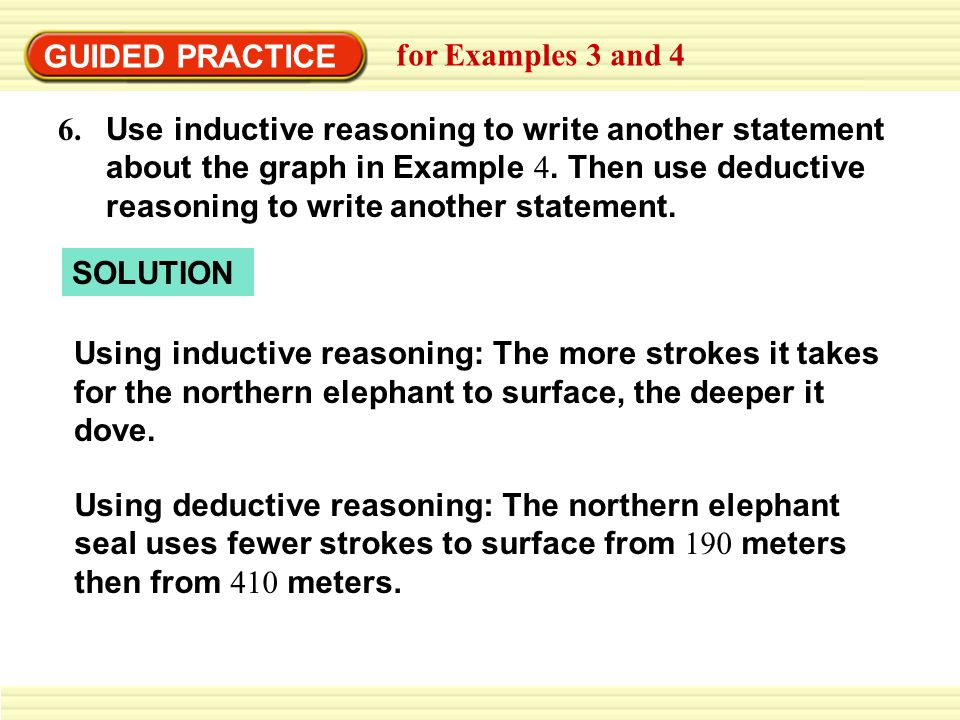 GUIDED PRACTICE for Examples 3 and 4.