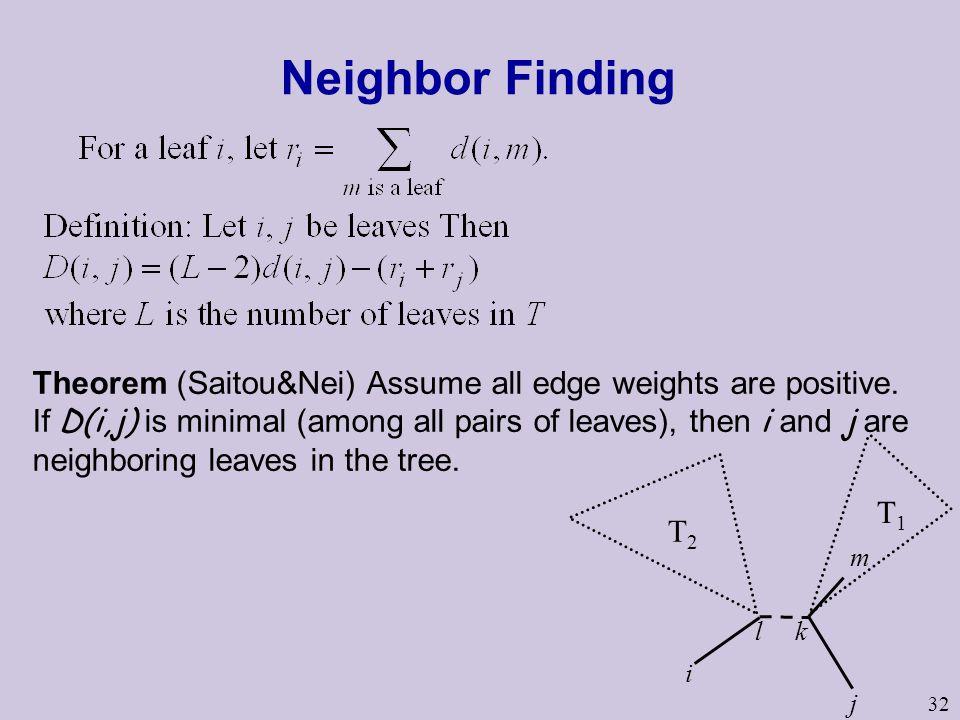 Neighbor Finding