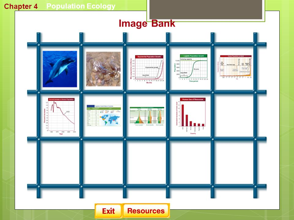 Chapter 4 Population Ecology Image Bank