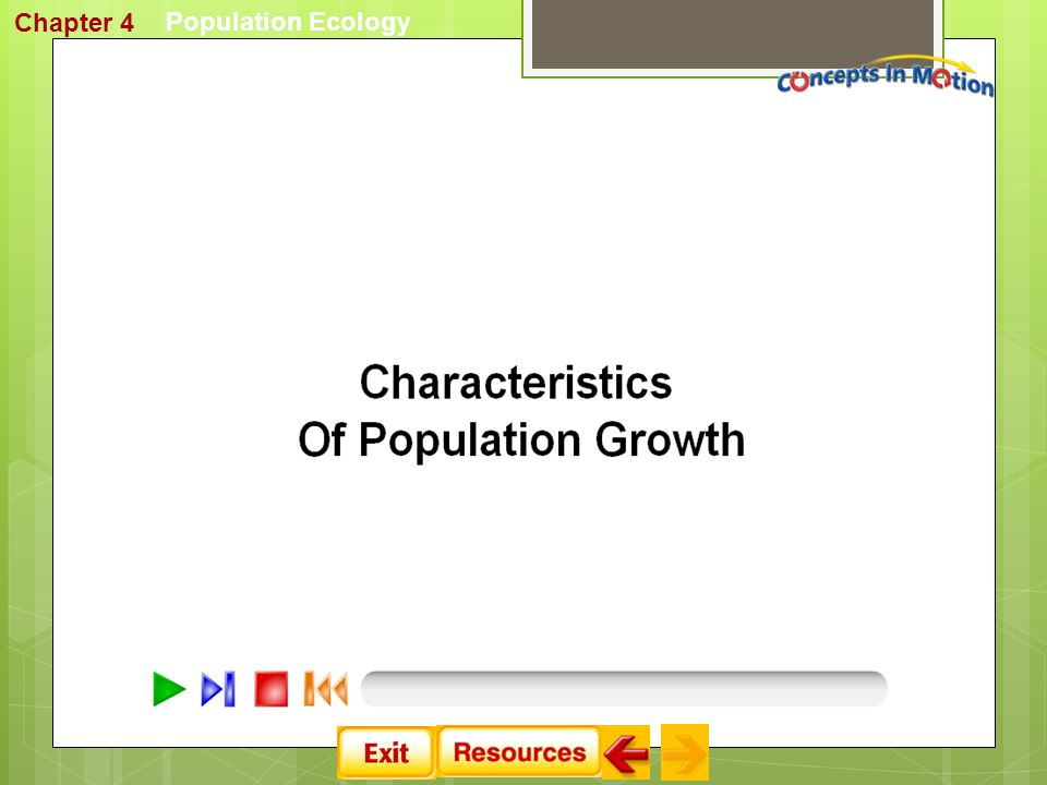 Chapter 4 Population Ecology