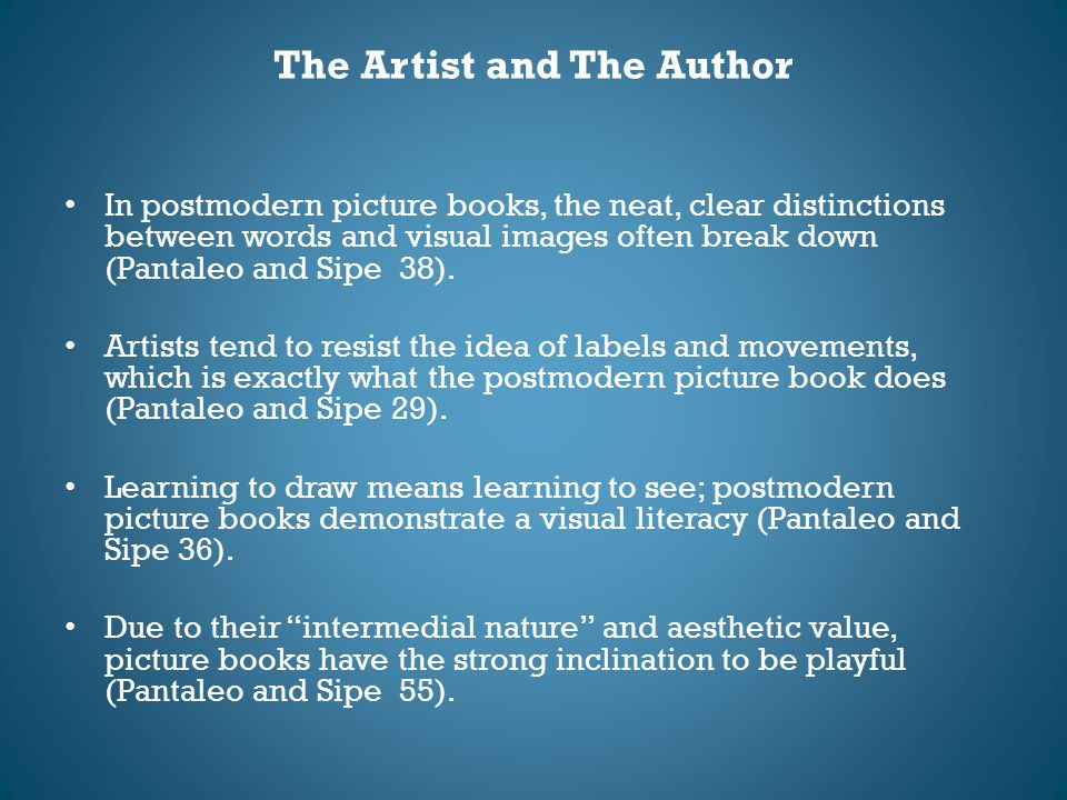 The Artist and The Author
